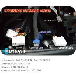 CONECTOR USB - INTERFACE PARA KIA y HYUNDAI