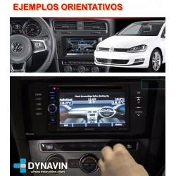 """LAND ROVER EVOQUE 5"""" (2011-2013) - INTERFACE MANDOS DEL VOLANTE, E INFORMACION ORIGEN EN PANTALLA"""