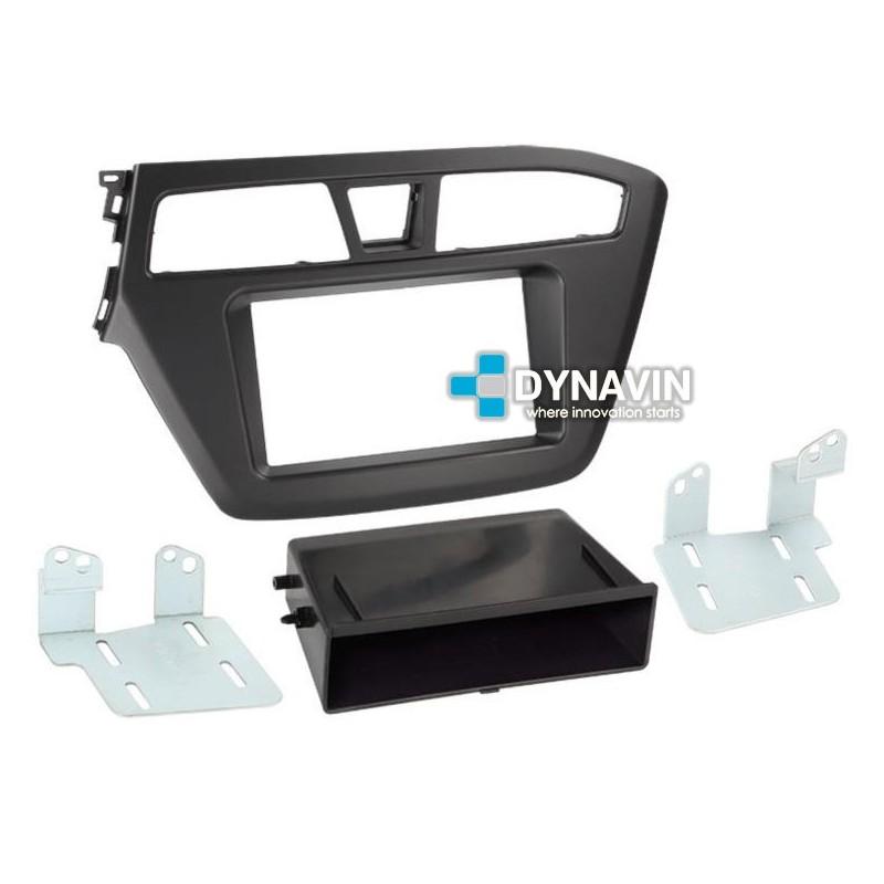Hyundai i20 GB a partir de 14 1-din radio del coche Kit de integracion adaptador de volante