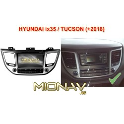 HYUNDAI TUCSON (+2016), HYUNDAI ix35 (+2016) - MIONAV II ANDROID