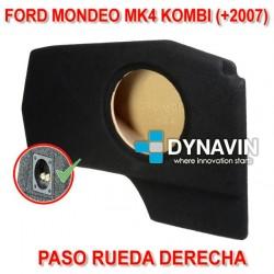 FORD MONDEO MK4 KOMBI (+2007) - CAJA ACUSTICA PARA SUBWOOFER ESPECÍFICA PARA HUECO EN EL MALETERO