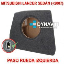 MITSUBISHI LANCER SEDÁN (+2007) - CAJA ACUSTICA PARA SUBWOOFER ESPECÍFICA PARA HUECO EN EL MALETERO