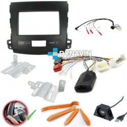 OUTLANDER, C-CROSSER, 4007 - 2DIN KIT RADIO UNIVERSAL