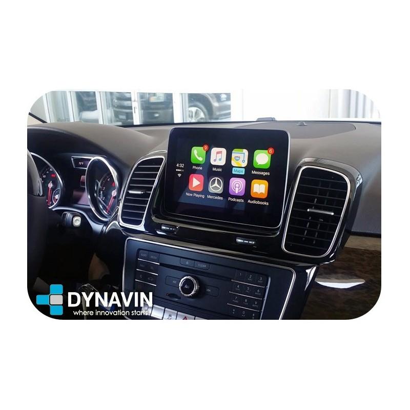 CarPlay Android Auto en Mercedes Benz Pantalla Original NTG