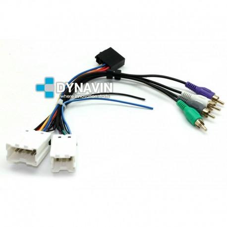 Conector iso universal para instalar radios en Nissan. ISO-NIS.2000