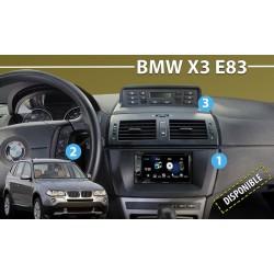 BMW X3 E83 - MARCO ADAPTADOR 2DIN