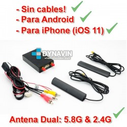 MIRROR LINK WIFI, SIN CABLES - APPLE IPHONE, ANDROID, IOS, AIR PLAY, AIR VIDEO, MIRALINK, MIRABOX...