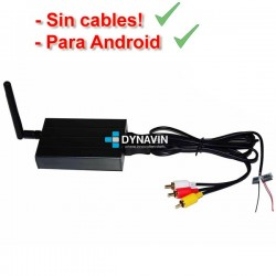MIRROR LINK WIFI, SIN CABLES - ANDROID