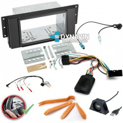 LAND ROVER (+2005) - 2DIN KIT RADIO UNIVERSAL