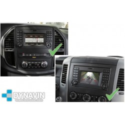 MERCEDES VITO W447 CON AUDIO 15 (+2015) - INTERFACE PARA CAMARA TRASERA