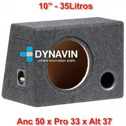 """CON BASS REFLEX: 10"""", 35Li. Anc 50 x Pro 33 x Alt 37"""