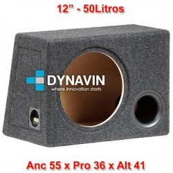 """CON BASS REFLEX: 12"""", 50Li. Anc 55 x Pro 36 x Alt 41"""
