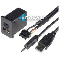 CONECTOR USB y AUX - INTERFACE PARA OPEL CORSA D (+2006)