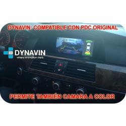 """BMW SERIE 5 E60, E61, E62 (+2005). LCD 8,8"""" y 6,5"""" COMPATIBLE CON IDRIVE - DYNAVIN D99+"""