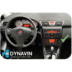 FIAT STILO (2001-2010) - 2DIN GPS HD USB SD DVD BLUETOOTH