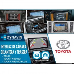 TOYOTA, SUBARU, SCION. TOUCH, TOUCH AND GO, PLUS (+2010) - INTERFACE, CONECTOR PARA CAMARA TRASERA Y DELANTERA