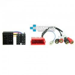 PORSCHE 911 Typ 996, BOXTER Typ 986 - CONECTOR ISO PARA SISTEMAS ACTIVOS