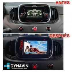 FIAT 500 (+2016) - DYNAVIN N7