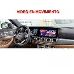 MERCEDES NTG5.5 COMMAND ONLINE CLASE E W213, COUPE C238 - VIDEO MOVIMIENTO
