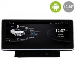 AUDI A6 C6/4F (MMI 2G) - ANDROID 10,25""