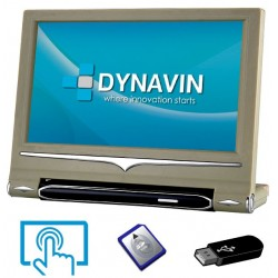 "PANTALLA MULTIMEDIA USB, SD, 9"" - TACTIL + HD DIGITAL PARA CABECEROS CON SEGURIDAD ACTIVA"