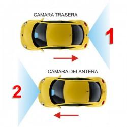 UNIVERSAL HQ - 2 CÁMARAS INTERFACE CONTROL CAMARA TRASERA + DELANTERA