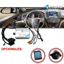 OPEL NAVI650, NAVI950, CD600, INTELLILINK - INTERFACE MULTIMEDIA