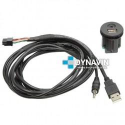 CONECTOR USB Y AUXILIAR - INTERFACE PARA NISSAN (+2011)