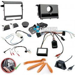 LAND ROVER DISCOVERY IV (LR4 2009-2016) - 2DIN KIT RADIO UNIVERSAL