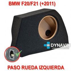 BMW F20, F21 - CAJA ACUSTICA PARA SUBWOOFER ESPECÍFICA PARA HUECO EN EL MALETERO