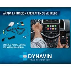 APPLE CAR PLAY UNIVERSAL. CONEXION RCA CONTROL INALAMBRICO