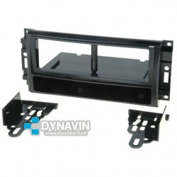 CHRYSLER, DODGE, JEEP (RECTANGULAR) - SOPORTE ADAPTADOR 1DIN