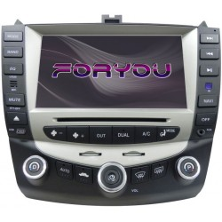 HONDA ACCORD 2003-2007 - 2DIN GPS HD USB SD DVD BLUETOOTH