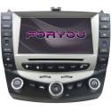 HONDA ACCORD 2003-2007 - 2DIN GPS HD USB SD DVD BLUETOOTH