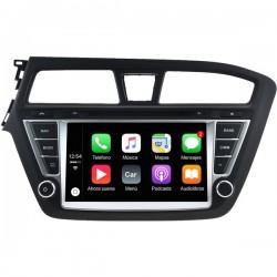 Radio 2din Android GPS Octacore 64GB FLASH. CarPlay Android Auto Furgoneta Hyundai i20 2014 2015 2016 2017
