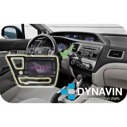 HONDA CIVIC (MK9 USA) - 2DIN GPS HD USB SD DVD BLUETOOTH