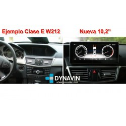 MERCEDES GLK X204 (+6/2011) - ANDROID 10,25""