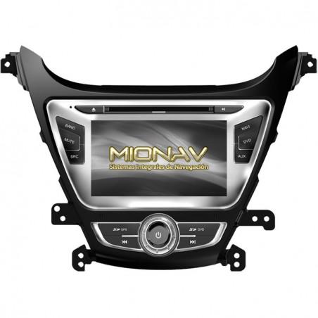 HYUNDAI ELANTRA 5 (Restyling +2014) - MIONAV II