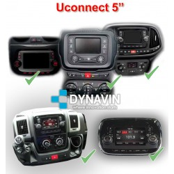 ALFA, FIAT, JEEP, DODGE UCONNECT 5 - INTERFACE MULTIMEDIA