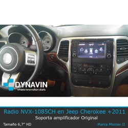 Radio MIONAV Grand Cherokee Jepp del 2011 o superior Dynavin
