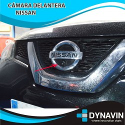 NISSAN CAMARA DELANTERA, FRONTAL DE APARCAMIENTO. A TODO COLOR
