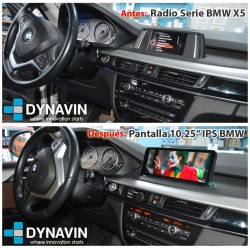 BMW X5 ANTES Y DESPUES PANTALLA