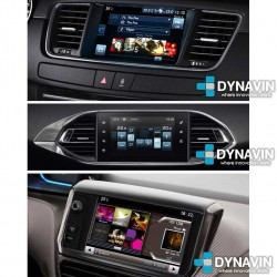 PEUGEOT SMEG TOUCH SCREEN SYSTEM, CITROEN eMyWay COLOUR DISPLAY - CAMARA TRASERA, DELANTERA