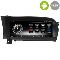"""MERCEDES BENZ CLASE S (W221) - ANDROID 10,25"""""""