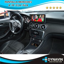 MERCEDES CLASE A/B/CLA/GLA NTG 5.0/5.1 (+2015) - ANDROID 10,25""
