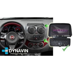 FIAT STRADA, PALIO, GRAN SIENA - 2DIN GPS HD USB SD DVD BLUETOOTH