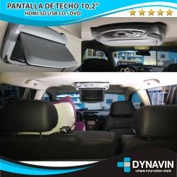 "PANTALLA DE TECHO TFT LCD 10,2"""