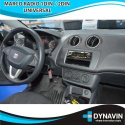 SEAT IBIZA 6J (+2008) - MARCO 1 Y 2DIN CON PORTAOBJETOS
