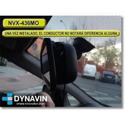 """MONITOR RETROVISOR 4,3"""": AV IN + CAM IN"""