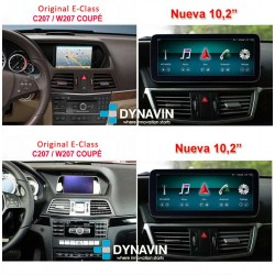 """MERCEDES CLASE E COUPE W207 (2009-2015) - ANDROID 10,25"""""""